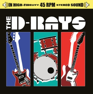 "Image of The D-Rays 12"" Vinyl Record w/digital download sticker"
