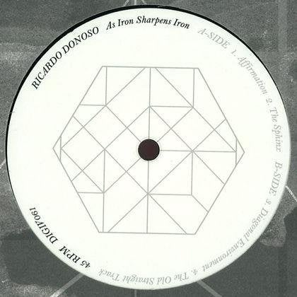 Image of As Iron Sharpens Iron 12""