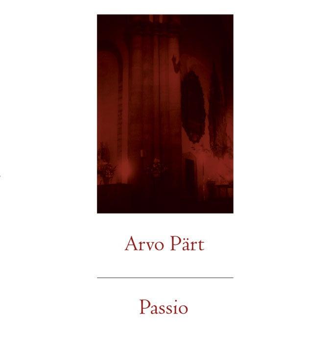 Image of Arvo Pärt - Passio, DoLP