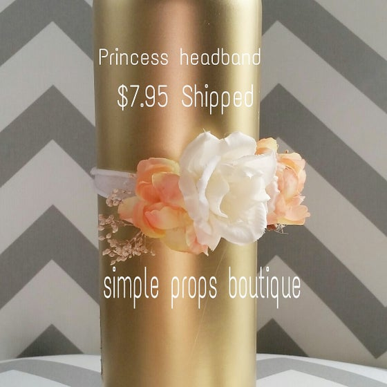 "Image of ""New"" Princess headband (Luxe Collection)"