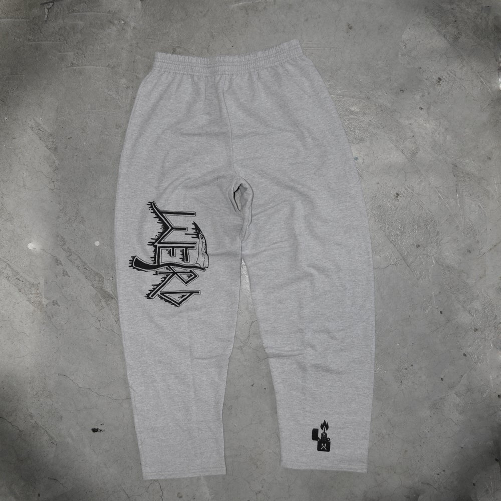 Image of DEATH GREY SWEATPANTS