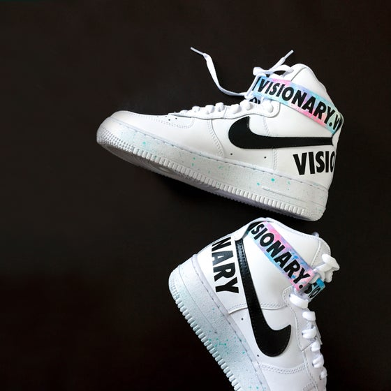 "Image of ""VISIONARY"" AF1 High // Sydney Kay"