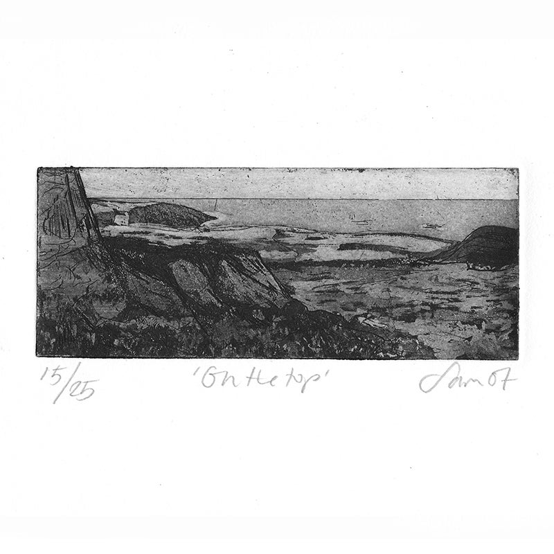 Image of 'On the Top' - Etching