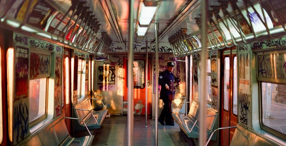 Image of Train Conductor, Long Island City, New York, 1985, Archival inkjet pigment print