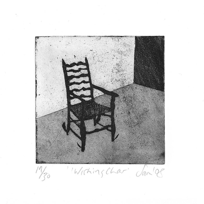 Image of 'Wishing Chair' - Etching