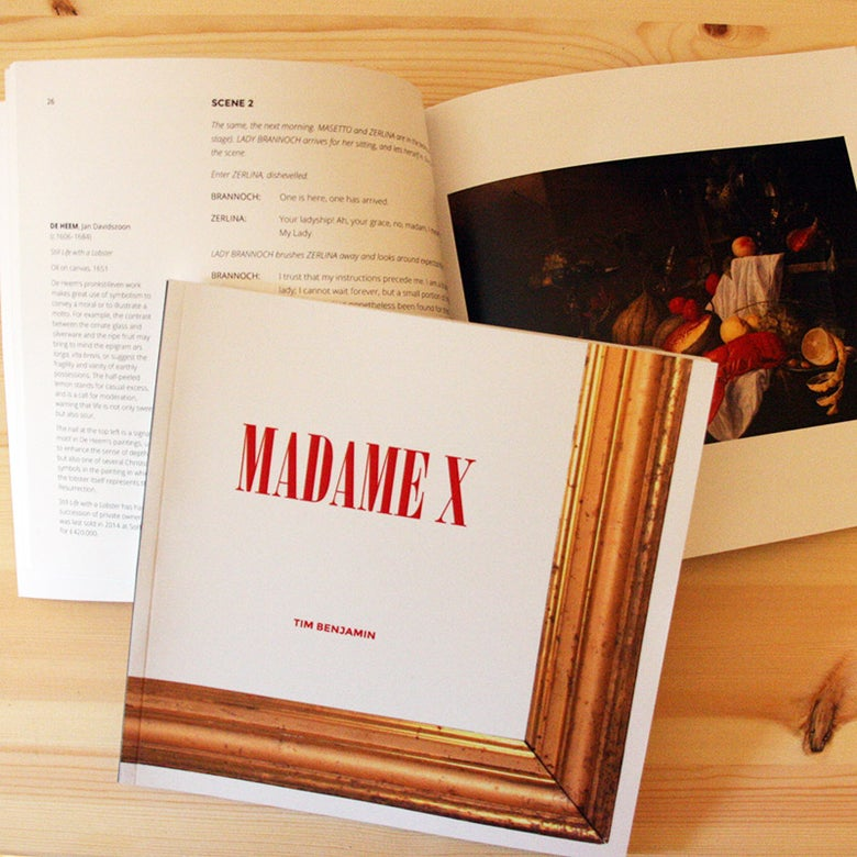 Image of Madame X Libretto + FREE programme