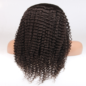 Image of Virgin Brazilian Kinky Curly - Full Lace Wig