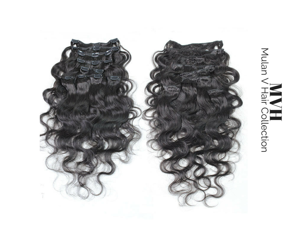 Image of Body Wave Clip In Extensions