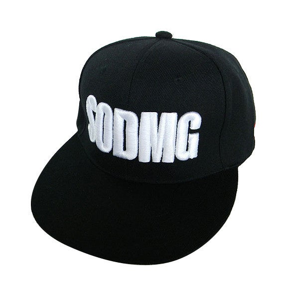 Image of SODMG Black Snapback