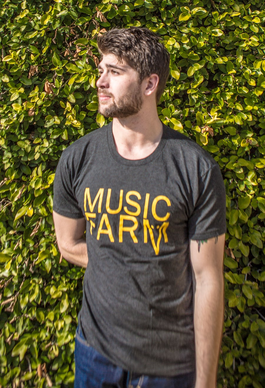 Image of Music Farm Men's Round Neck Tee