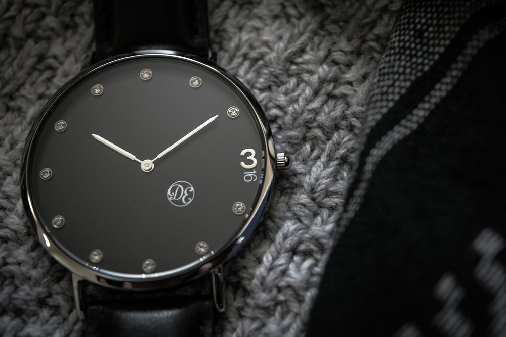 "Image of The ""3:16"" Black Leather"