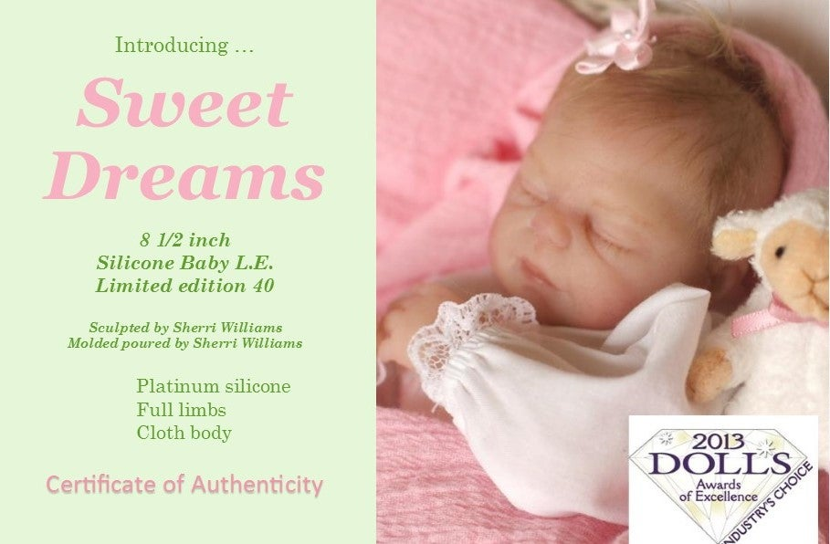 Image of Sweet Dreams 8 1/2 inch Silicone kit