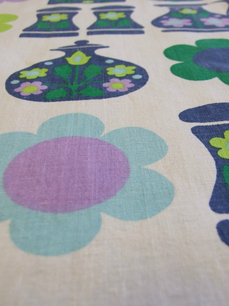 Image of 60s Kitchen Fabric - fat quarter