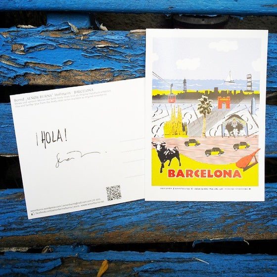 Image of BARCELONA (postcard)
