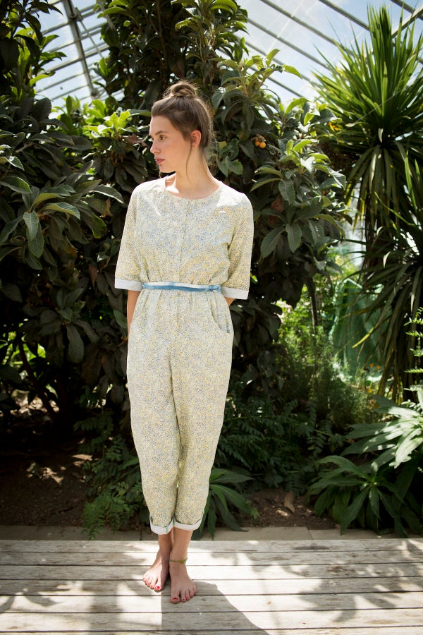 Image of Gathering Peascods Jumpsuit