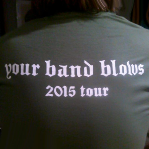 Image of Moistboyz 2015 Tour Shirt