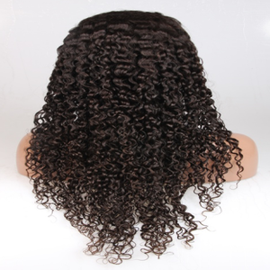 Image of Virgin Malaysian Caribbean Curly Front Lace Wig
