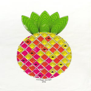 Image of SPECIAL Pineapple Tea Towel