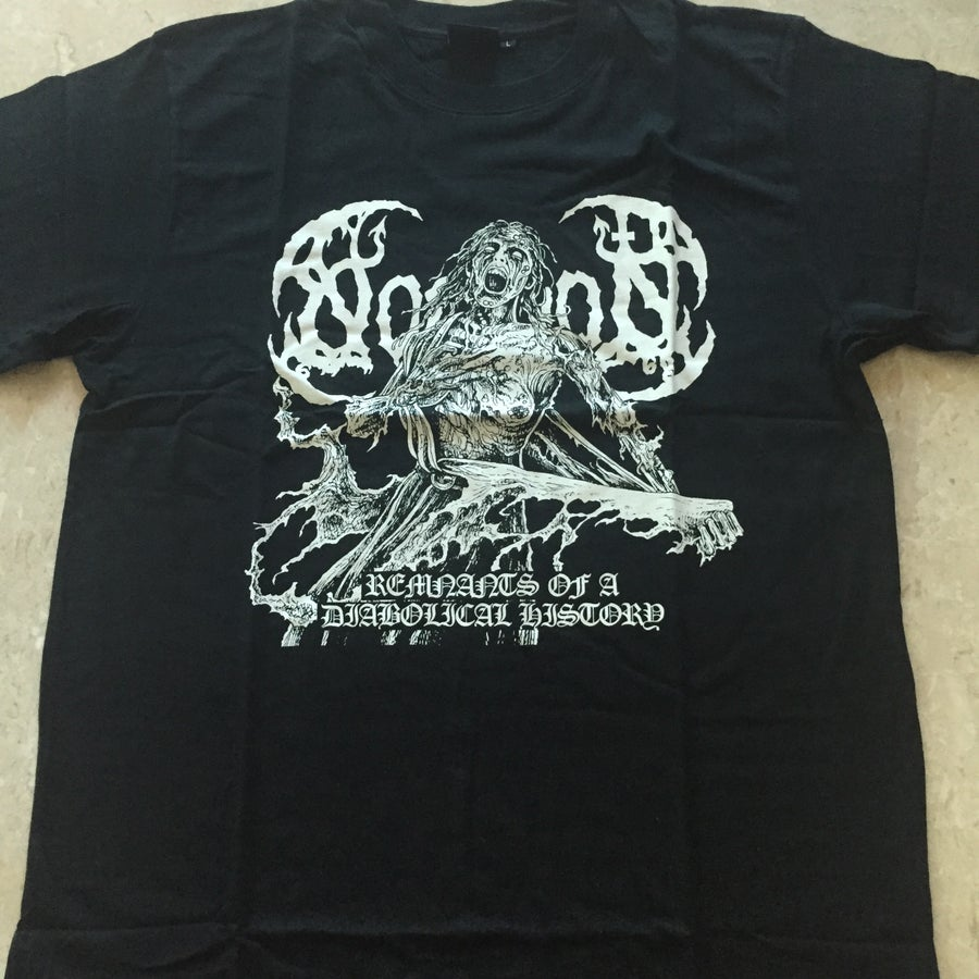 """Image of NOMINON """"Remnants Of A Diabolical History"""" T-Shirt"""