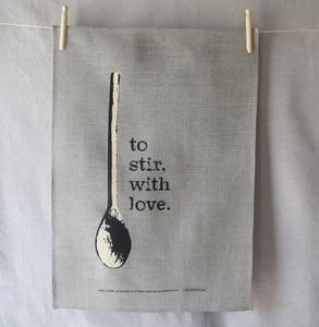 Image of to stir, with love