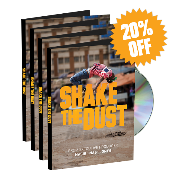 Image of Shake the Dust DVD 4-Pack