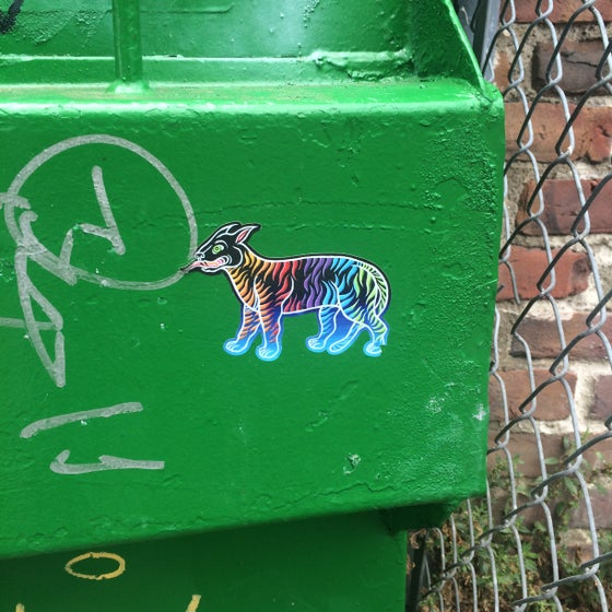"""Image of """"high of the tiger"""" sticker"""