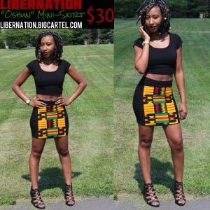 Image of New LiberNation Oshun Mini-Skirt