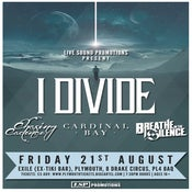 Image of I DIVIDE + SUPPORT @ Exile, Plymouth | 21.08.15