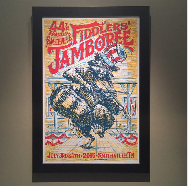 Image of 44th Annual Smithville Fiddlers' Jamboree poster