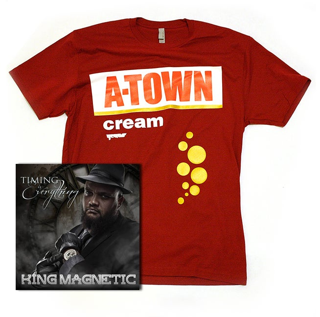 Image of A-town Cream Magnetic Set