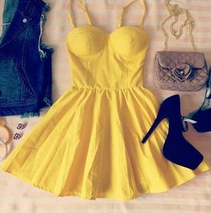 Image of HOT STRAPLESS CUTE DRESS