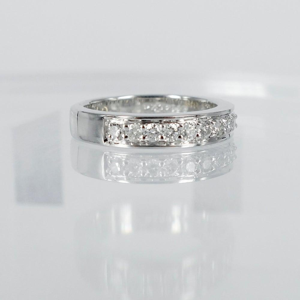 Image of PJ4349 18ct white gold diamond band