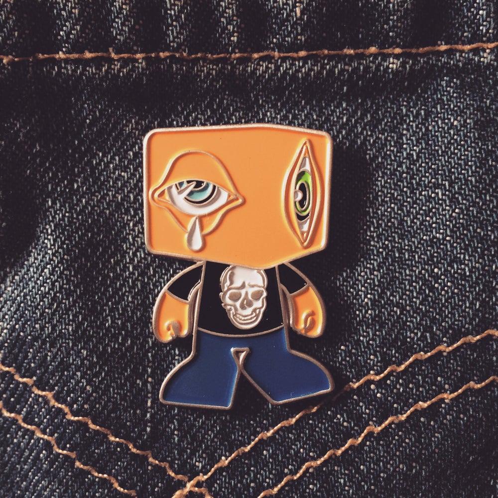 """Image of """"Man-E-Eyes"""" pin"""