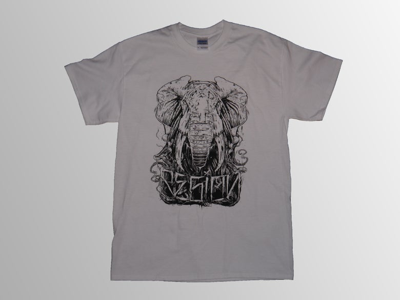 Image of Elephant Tee - White