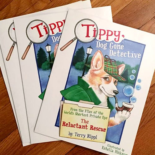 Image of Tippy, Dog Gone Detective
