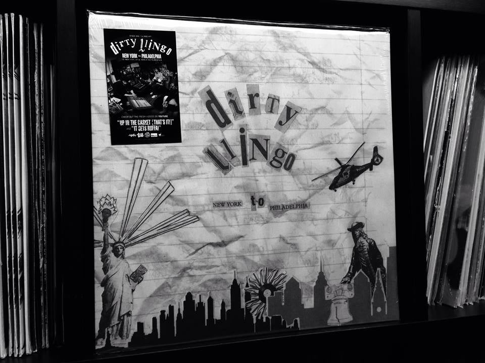"Image of DFACE DXA & LLINGO APT - Dirty Llingo: New York To Philadelphia Deluxe Edition // 12"""