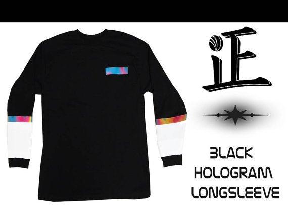 Image of Black Hologram Longsleeve