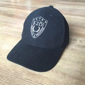 Image of F2D BLACK 6 PANEL LOW PROFILE BASEBALL CAP