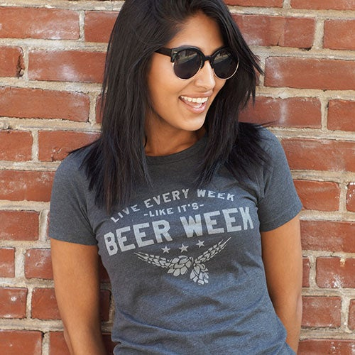 Image of Live Every Week Like It's Beer Week - Drink Philly, Women's
