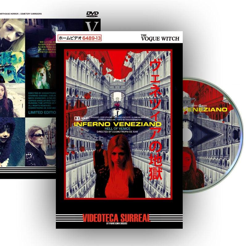 Image of PRE-ORDER: Inferno Veneziano DVD (Hardbox Design B) + FREE POSTER