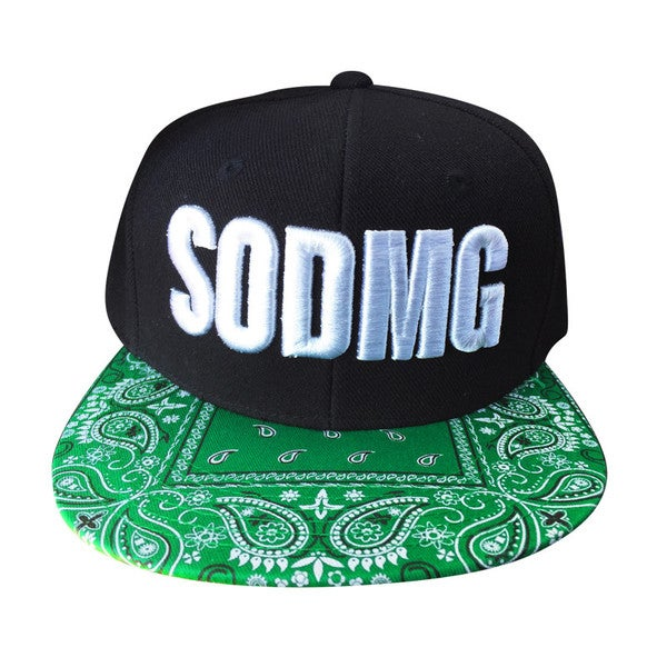 Image of SODMG Green & White Snapback