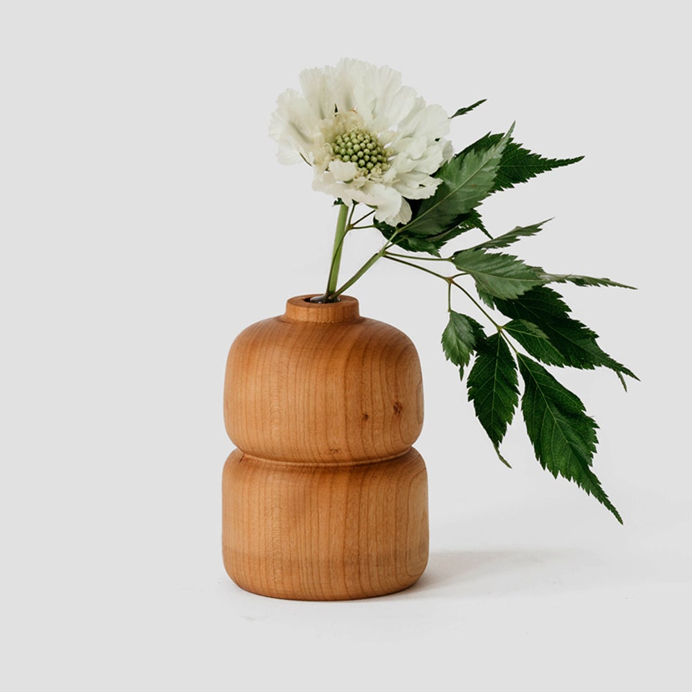 Image of Double Cherry Bud Vase