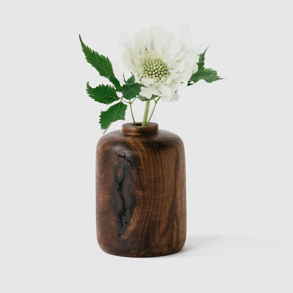 Image of Straight Walnut Bud Vase