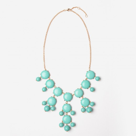 Image of Teal Bubble Necklace