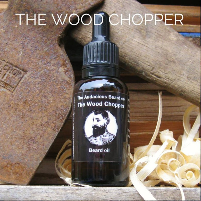 Image of The Wood Chopper - beard oil - The Audacious Beard Co