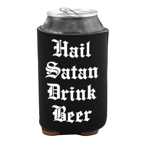 Image of Hail Satan Drink Beer - Drink Cooler