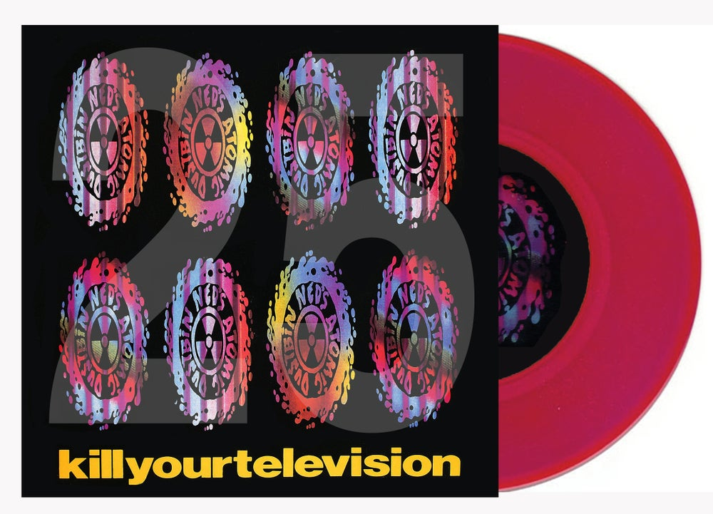 "Image of Kill Your Television 25th Anniversary 12"" vinyl (Signed)"