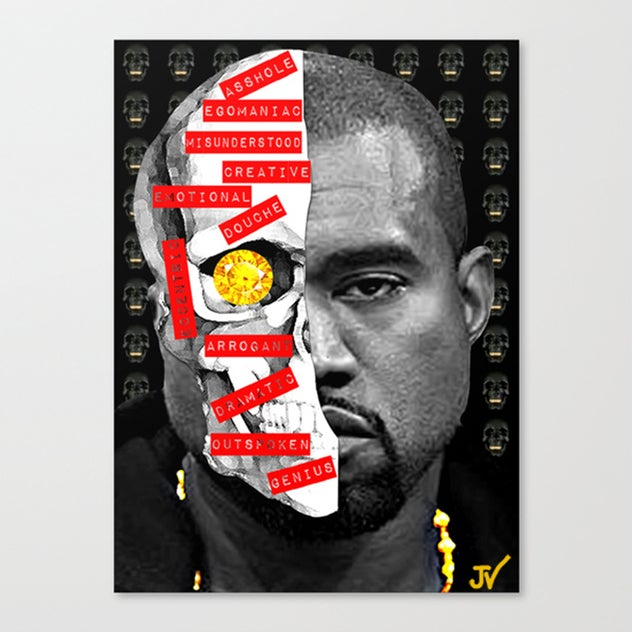"Image of ""Yeezy Labels"" Canvas"