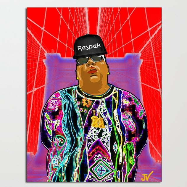 "Image of ""RESPEK BIG"" Canvas"