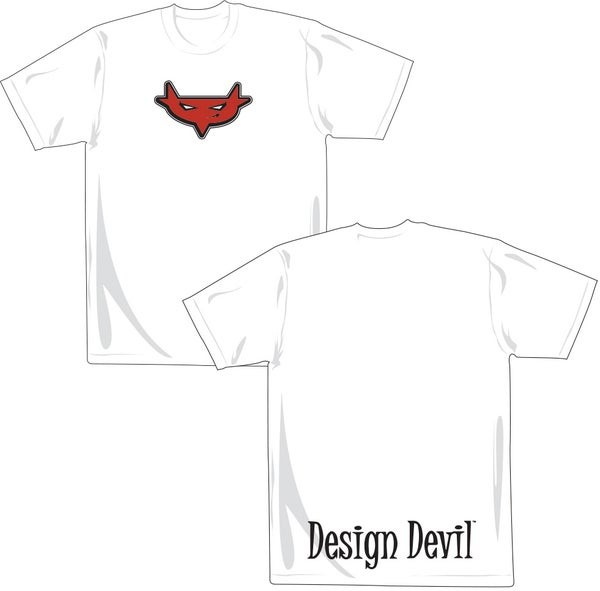 Image of Design Devil T-Shirt (White)